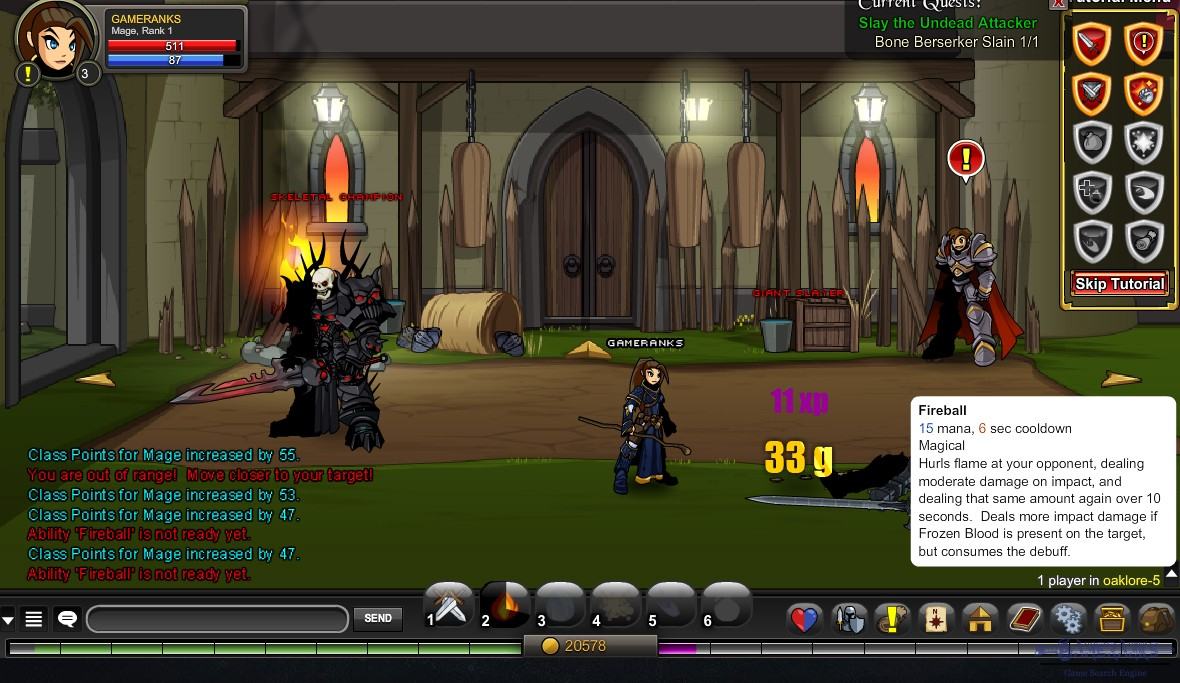 adventurequest worlds classes